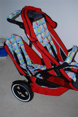 Phil And Teds Sport Double With Custom Covers Sewing For Baby
