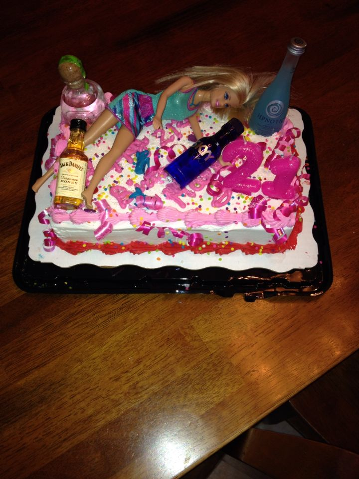 Birthday Cake For A 21 Year Old