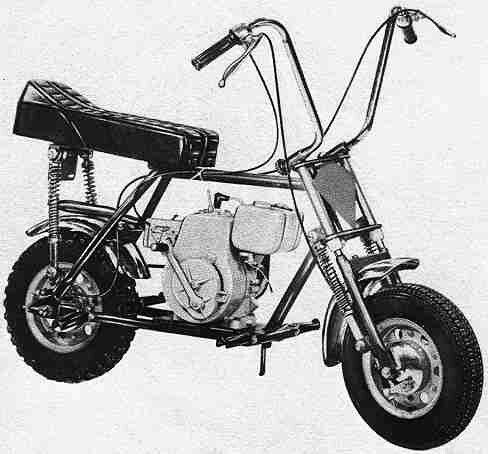 Minibike with Clinton engine | 50CC Scooters | Mini bike, Bike ...