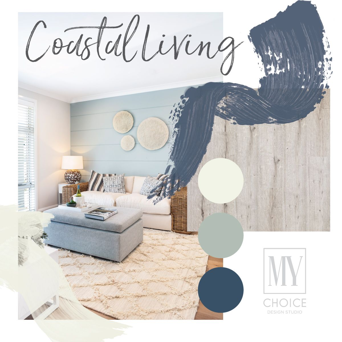 We Adore The Selections In This Home The Stunning Flooring Which Is Drift Oak Plus The Coastal Paints Of T Coastal Living Room Home Builders Soft Furnishings