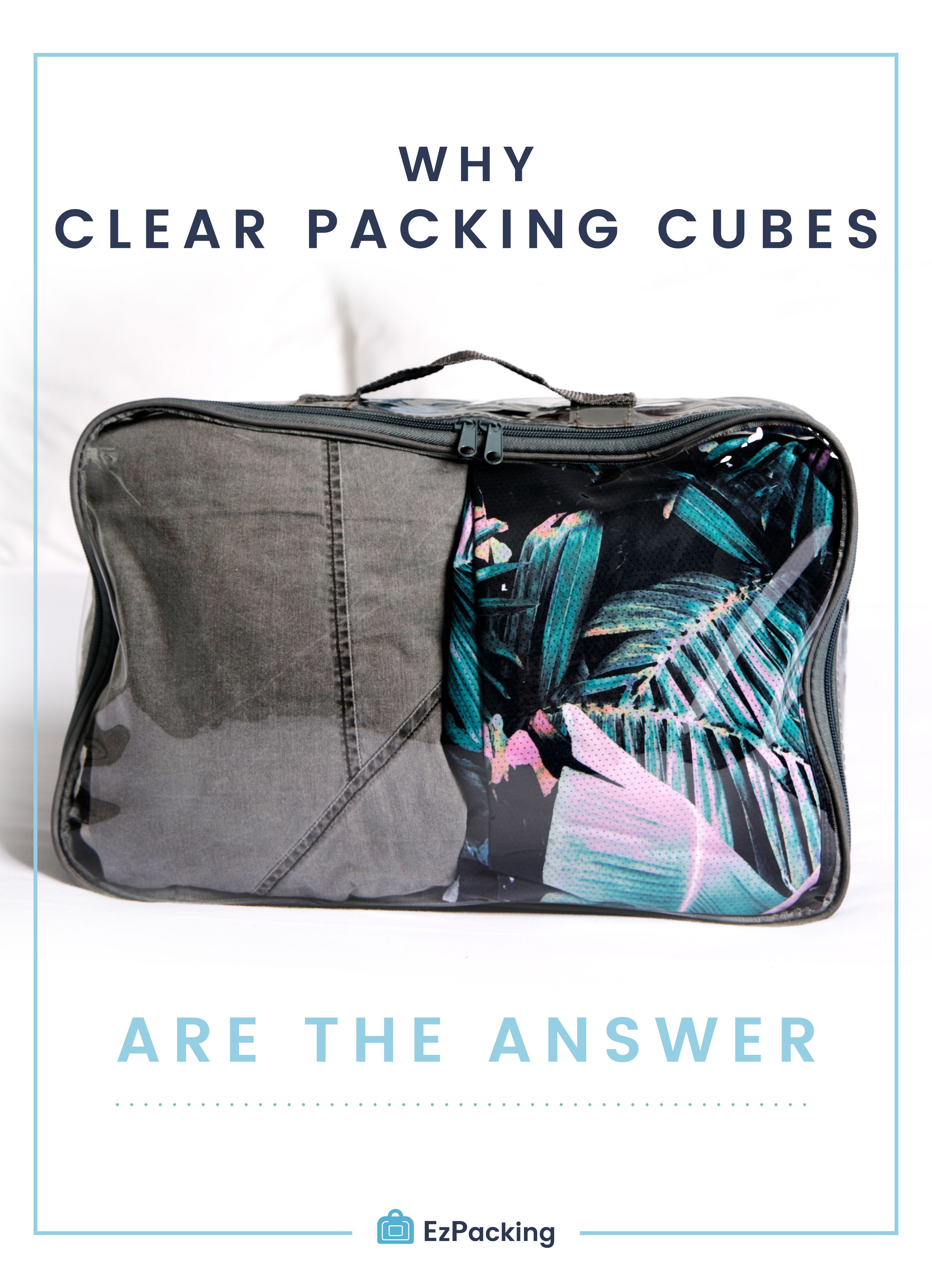 Packing Cells How To Use Packing Cells For Suitcases In 2018 The Ezpacking