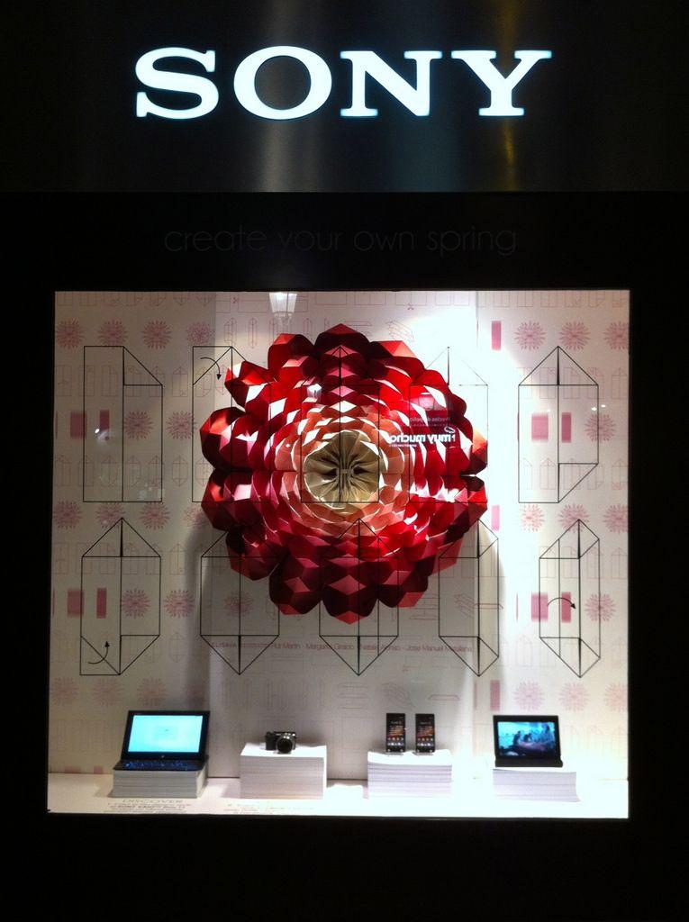 Énfasis contraste color Sobresalen las tonalidades rojas de la rosa sobre todo lo demás por su color Sony - Barcelona, Spain