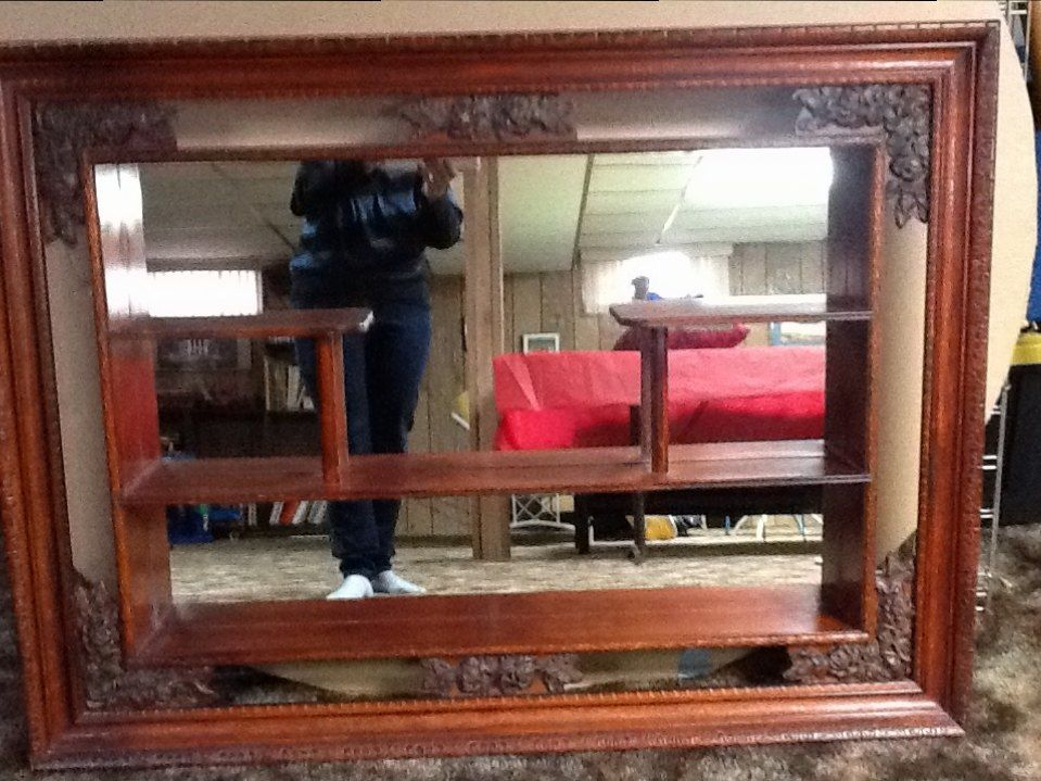 I Have A 1954 Mirrored Shadow Box Any Suggestions For How To
