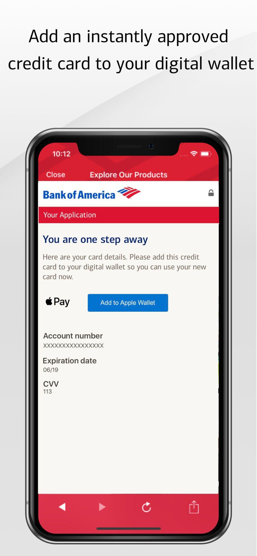 bank of america ios