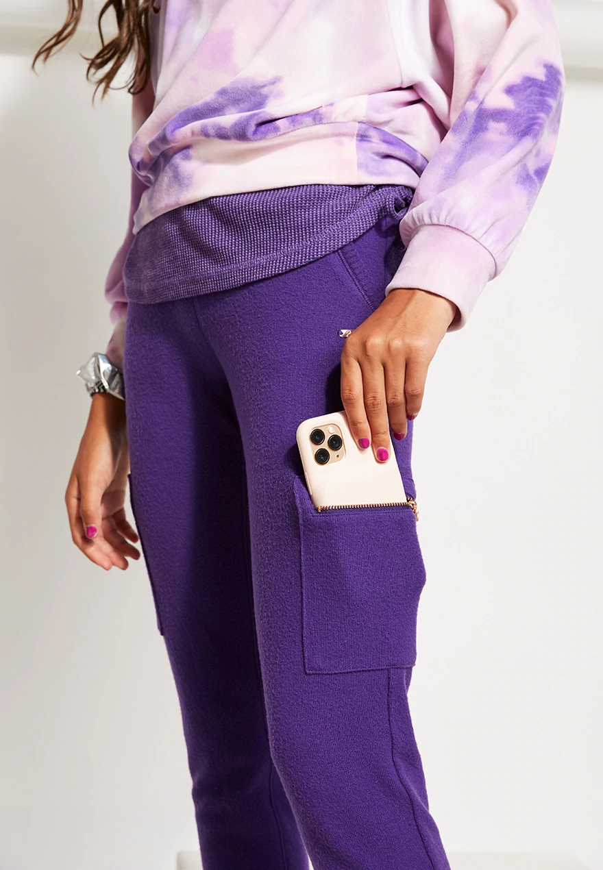 Tie Dye Lace Up Velour Girls Sweatshirt Justice Girl Sweatshirts Girls Outfits Tween Girl Outfits [ 1270 x 880 Pixel ]