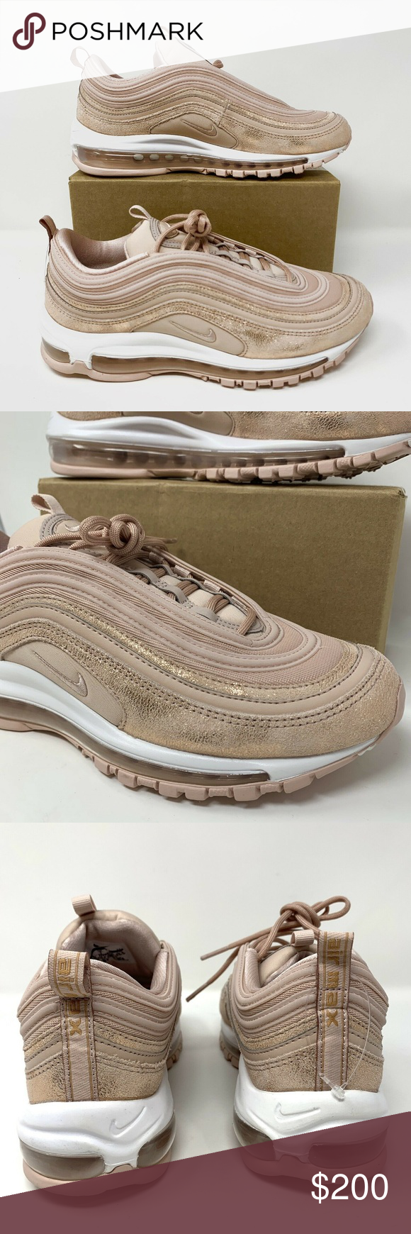 Nike Air Max 97 Women's Size 9.5 Bronze scarpa Nike Air Max