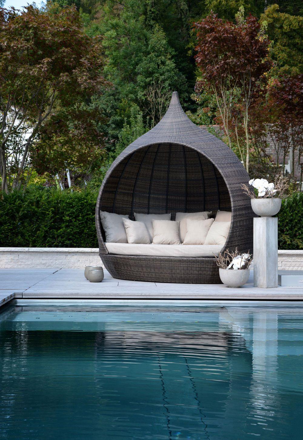Outdoor Furniture Safari Liegeinsel Liegeinsel Garten Hinterhof Terrassen Designs Gartenmobel