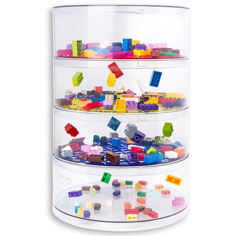 BLOKPOD Toy U0026 Lego Storage Bin Organizer U0026#x2022; Multipurpose Stackable  Storage Solution U0026