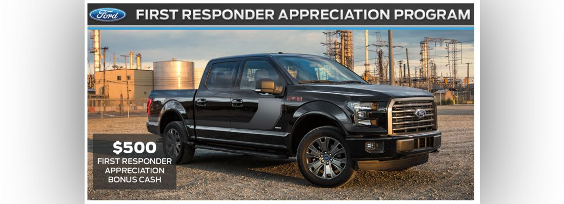 First Responder Appreciation Program At Glacier Valley Ford