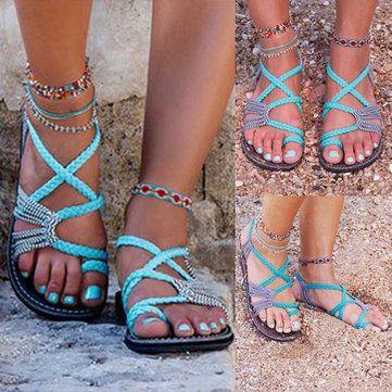 0de85948d7a0 I love this color for summer Women s Shoes Sandals