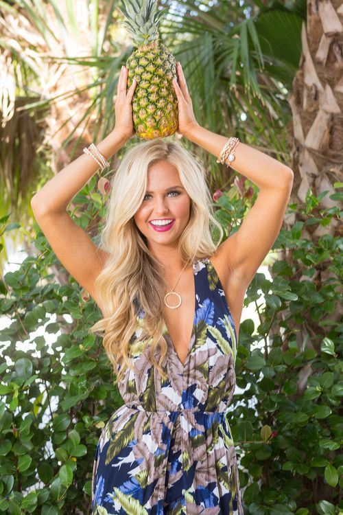 999c8274aae2 Nights In The Bahamas Printed Maxi Romper - The Pink Lily