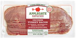 Applegate Farms Turkey Bacon...... Paleo, GF, Sugar Free