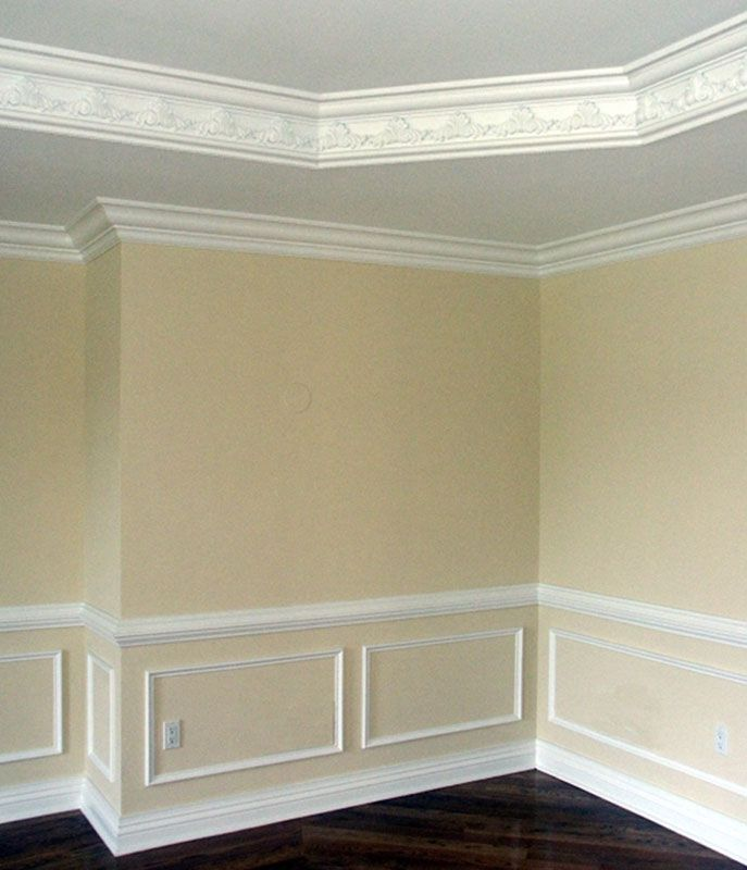 Interior Wall Moulding Design Ideas Gallery Wall And Moulding ...