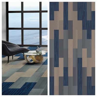 Interface Modular Carpet B702 North Sea Carpet Tiles Design