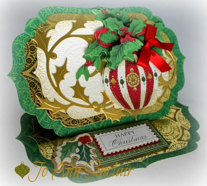 Happy Christmas by Sinclair - Cards and Paper Crafts at Splitcoaststampers