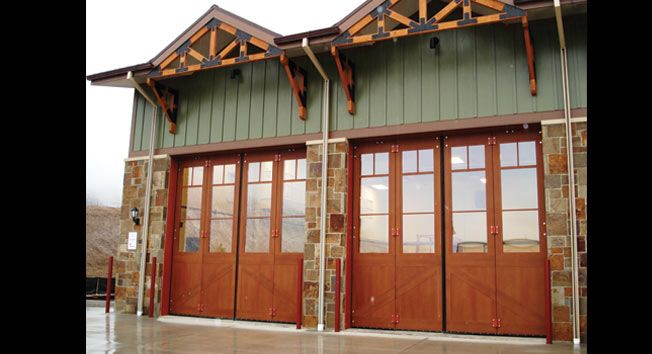 Fire Station Garage Door