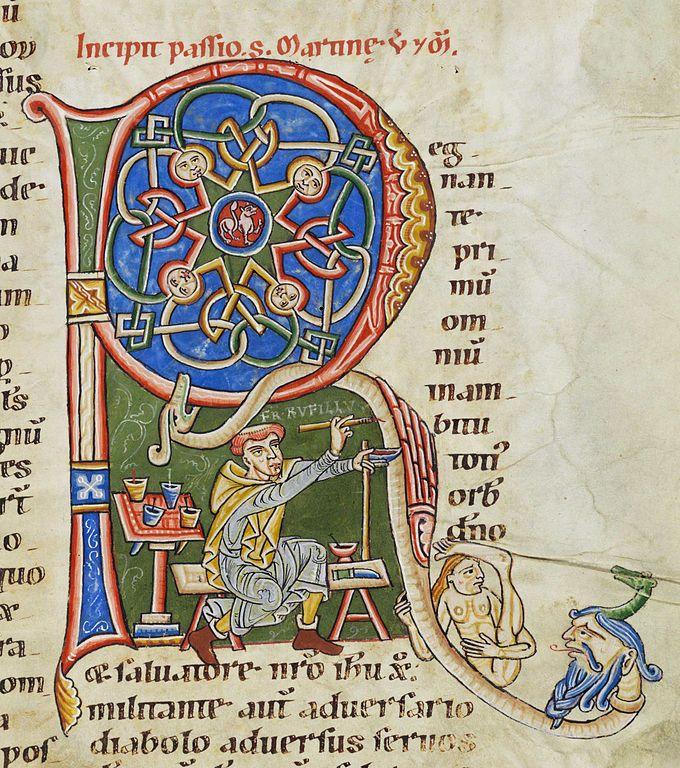 middeleeuwen hoofdletter - Google zoeken | FAUST & BASTION