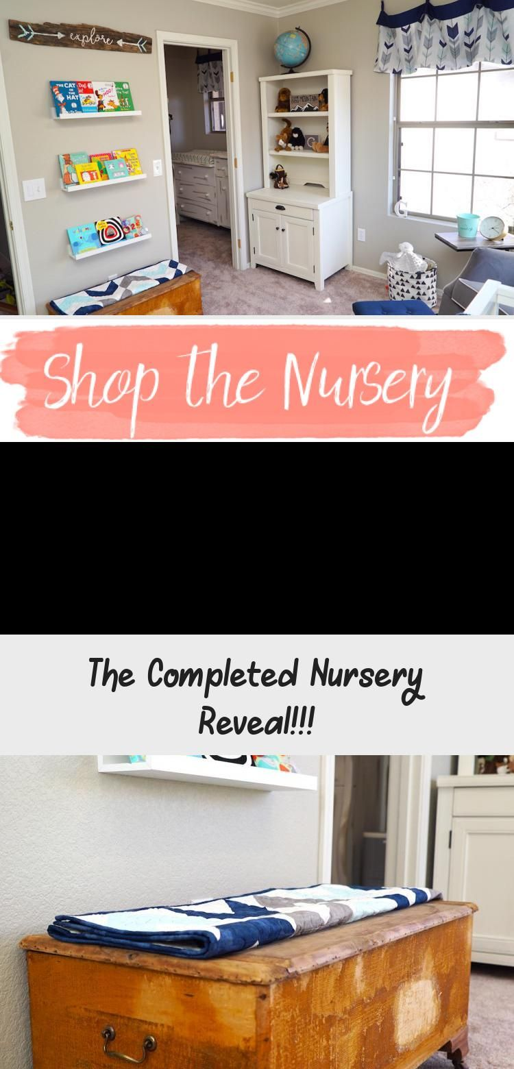 The Completed Nursery Reveal In 2020 Baby Room Diy Boho Baby Room Adventure Theme Nursery