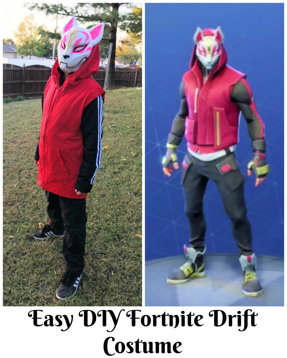 Fortnite Drift Costume: Easy DIY Halloween Costume ...