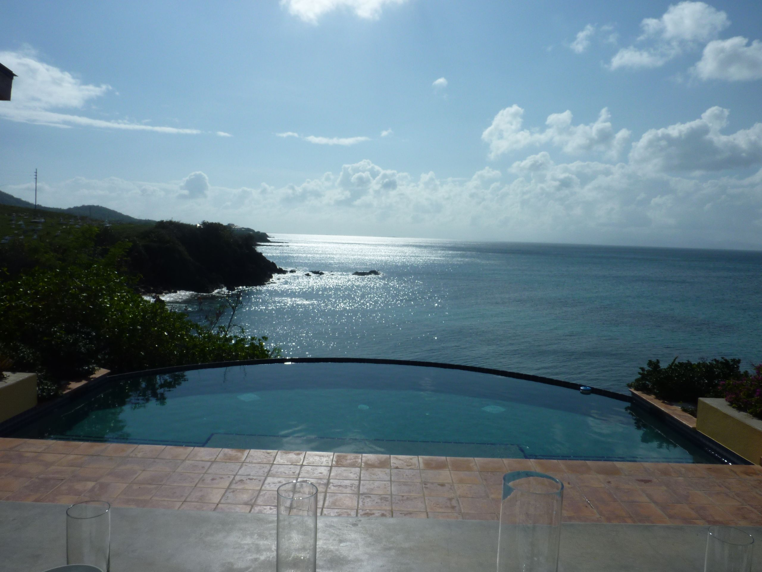 A view from one of the wedding venues on Vieques Island
