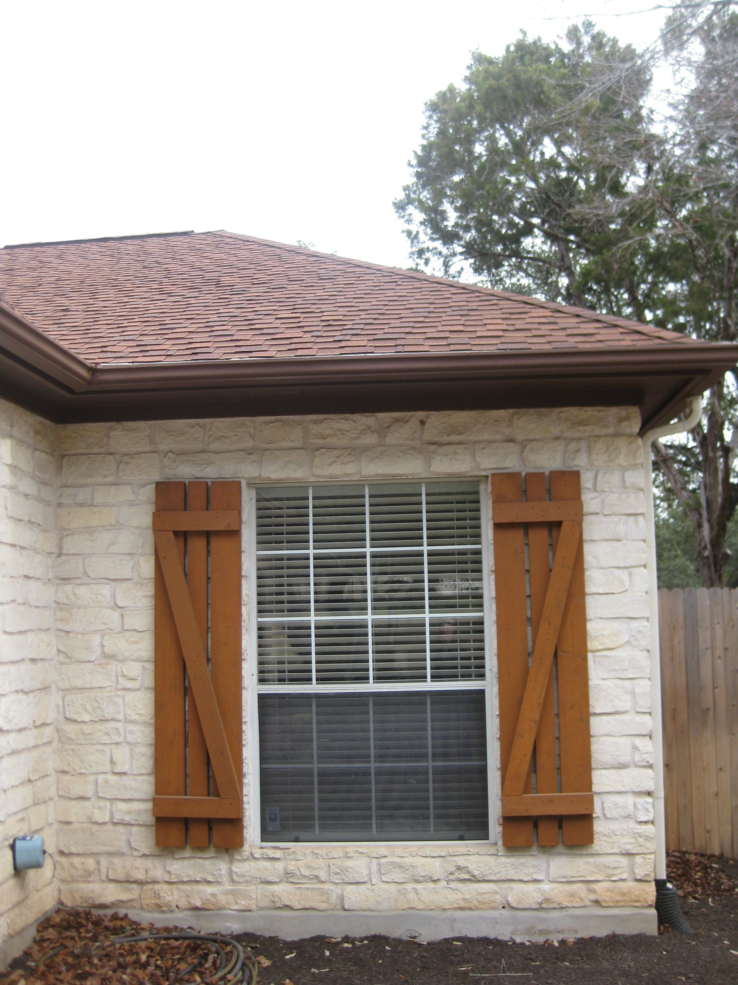 This Old House Dressing Up The Exterior Cedar Shutters House And Exterior