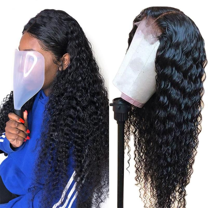 Lumiere Lace Closure Frontal Wigs Deep Wave Virgin Human Hair Wigs Human Hair Wigs Wig Hairstyles Deep Wave Hairstyles