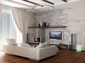 im modernen stil einrichten und dekorieren: vorhänge und gardinen, Wohnzimmer