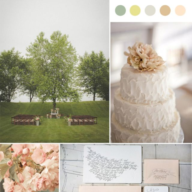 Earth Tone Wedding, Wedding