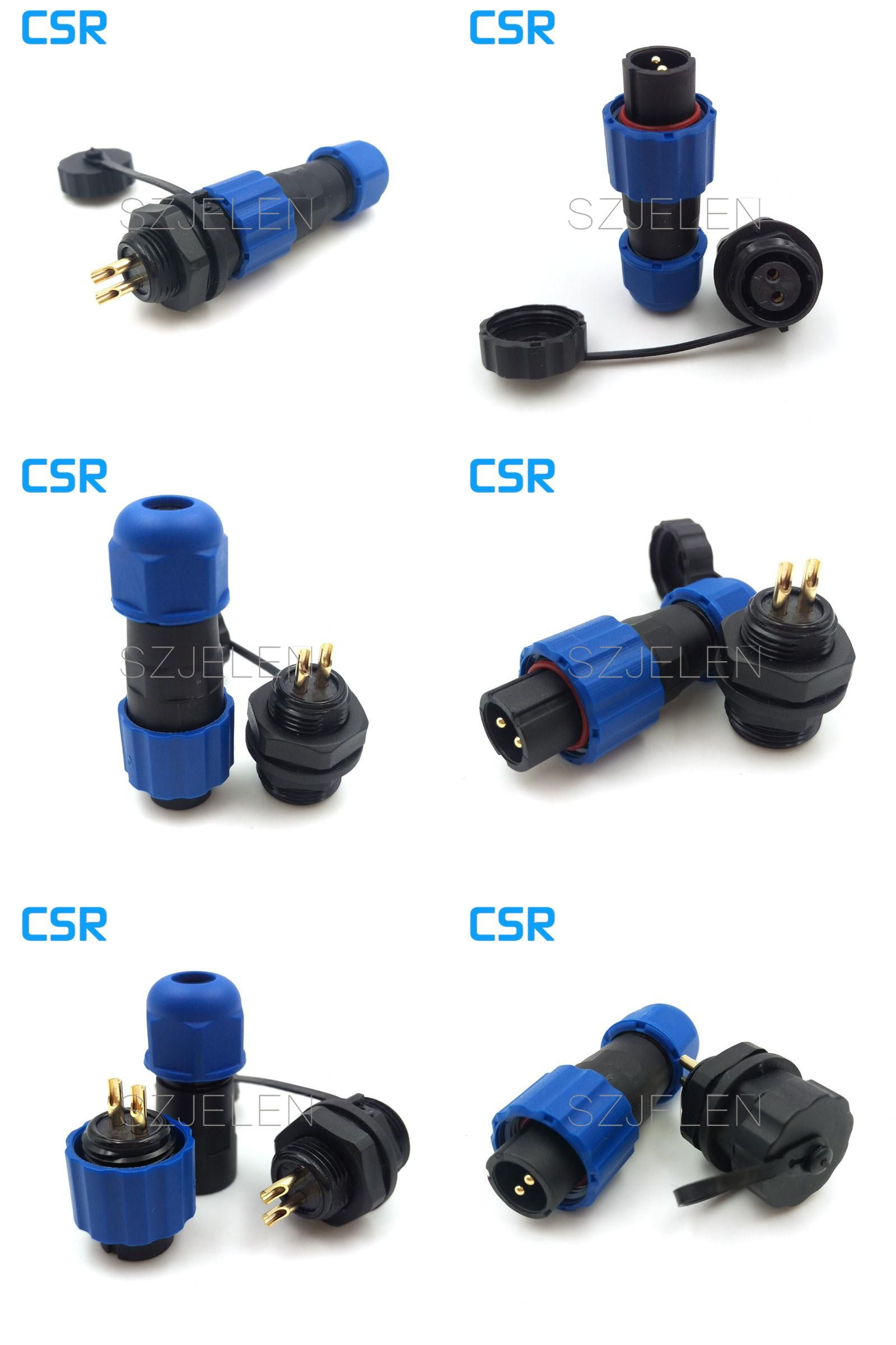 Visit To Buy 13mm Sd13 2 Pin Waterproof Connector Power Wire