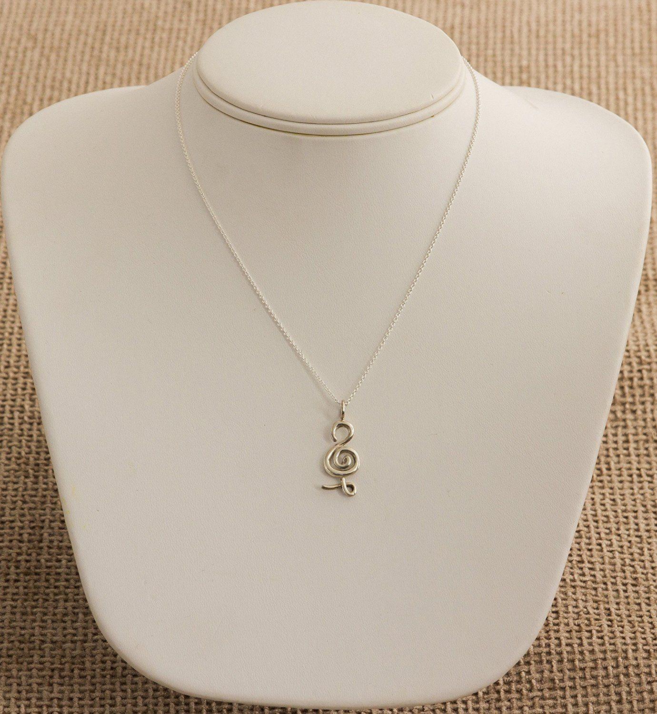 The Best Hakuna Matata Symbol Pendant Necklace 925 Sterling Silver