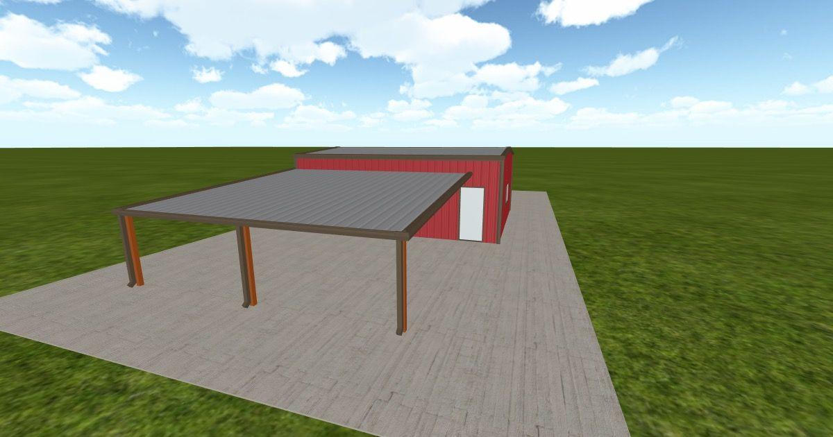 Cool 3D #marketing http://ift.tt/29Ea8fN #barn #workshop #greenhouse #garage #roofing #DIY