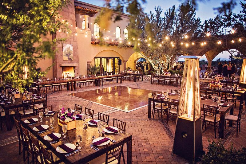 Blackstone Country Club Wedding Ceremony And Reception Venue In Peoria Arizona Phoenix West Valley Expansive Hacienda Style Clubhouse With Panoramic