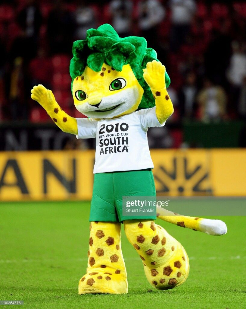 Zakumi In Real Life Fifa World Cup 2010 Mascot