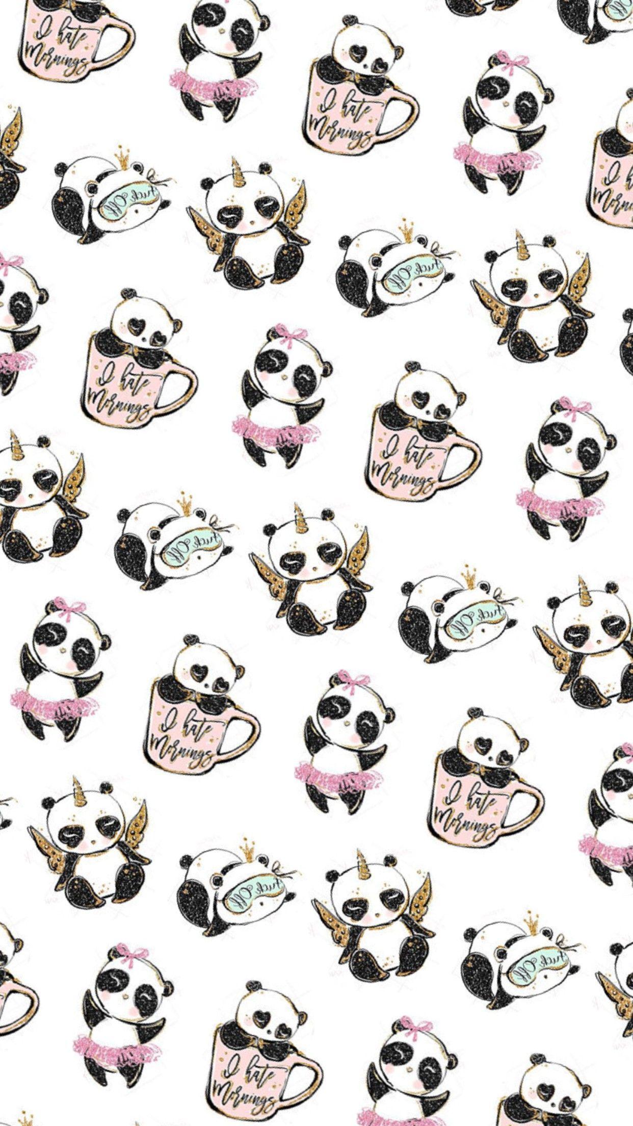 Fond d'écran | Fond d'écran panda, Mini dessin, Fond d'écran téléphone