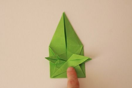flores de clase maestra de papel de origami (450x300, 15Kb)