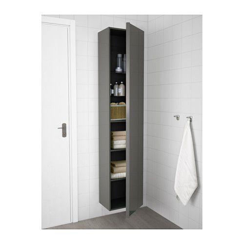 GODMORGON Hochschrank - Hochglanz grau - IKEA Bad Pinterest - badezimmer wandschrank
