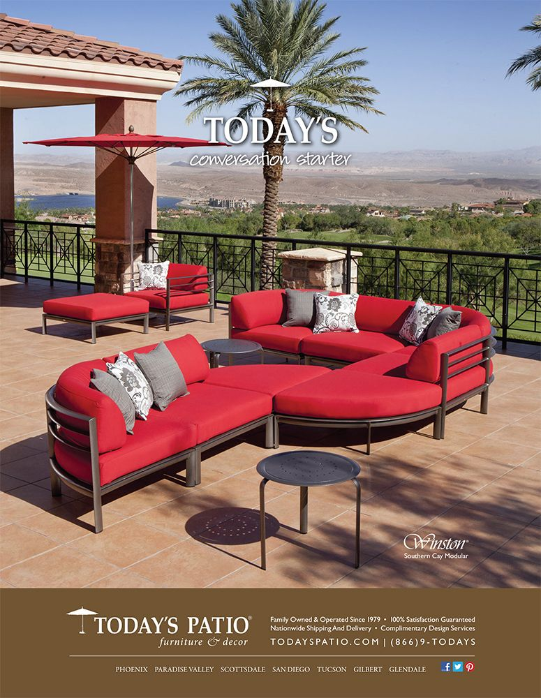 Winston Southern Cay Modular - Today's Patio Magazine Ad - Winston Southern Cay Modular - Today's Patio Magazine Ad Today's