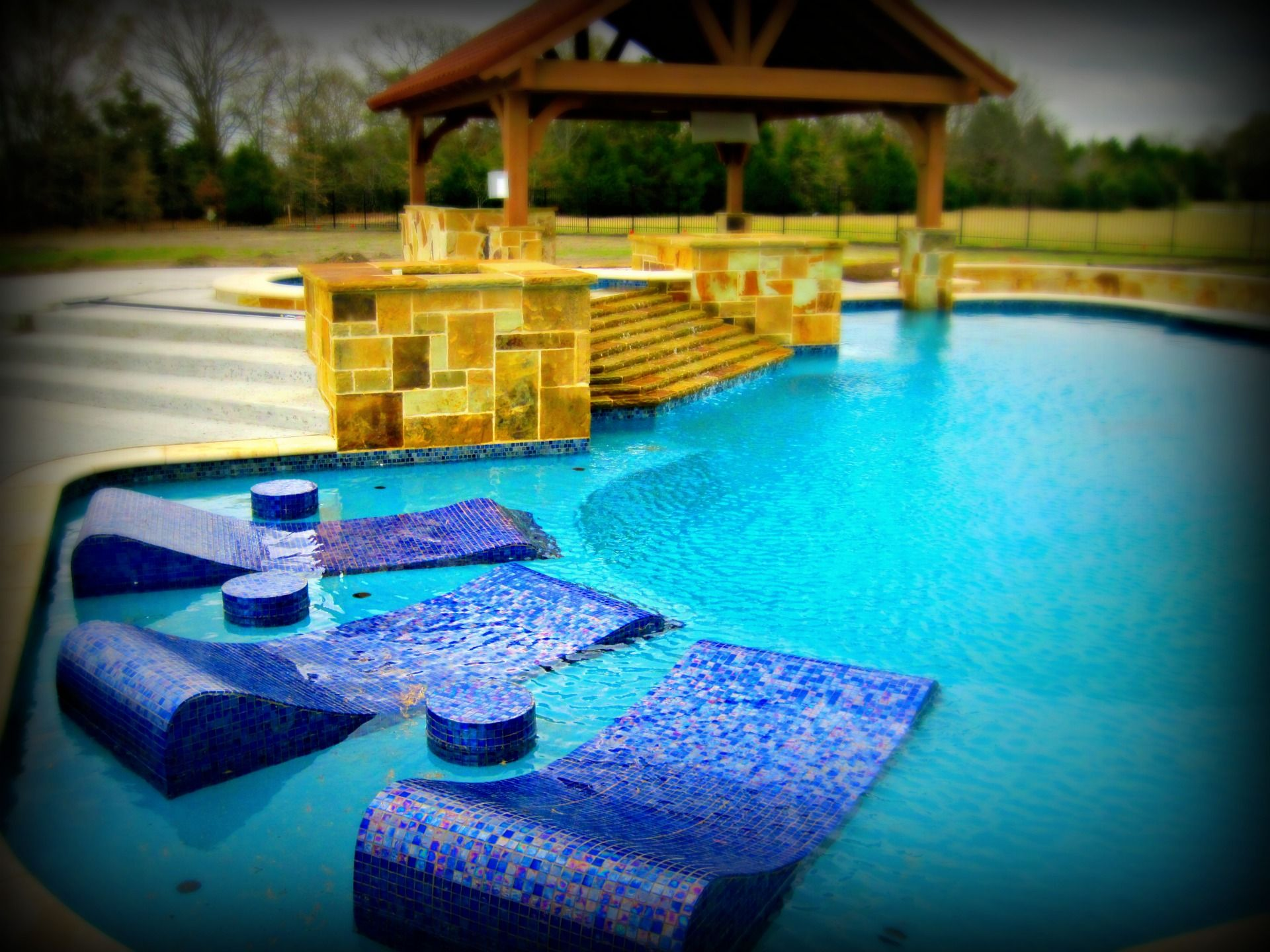 freeform swimming pool examples by dallas fort worth swimming pool builder puryear custom pools
