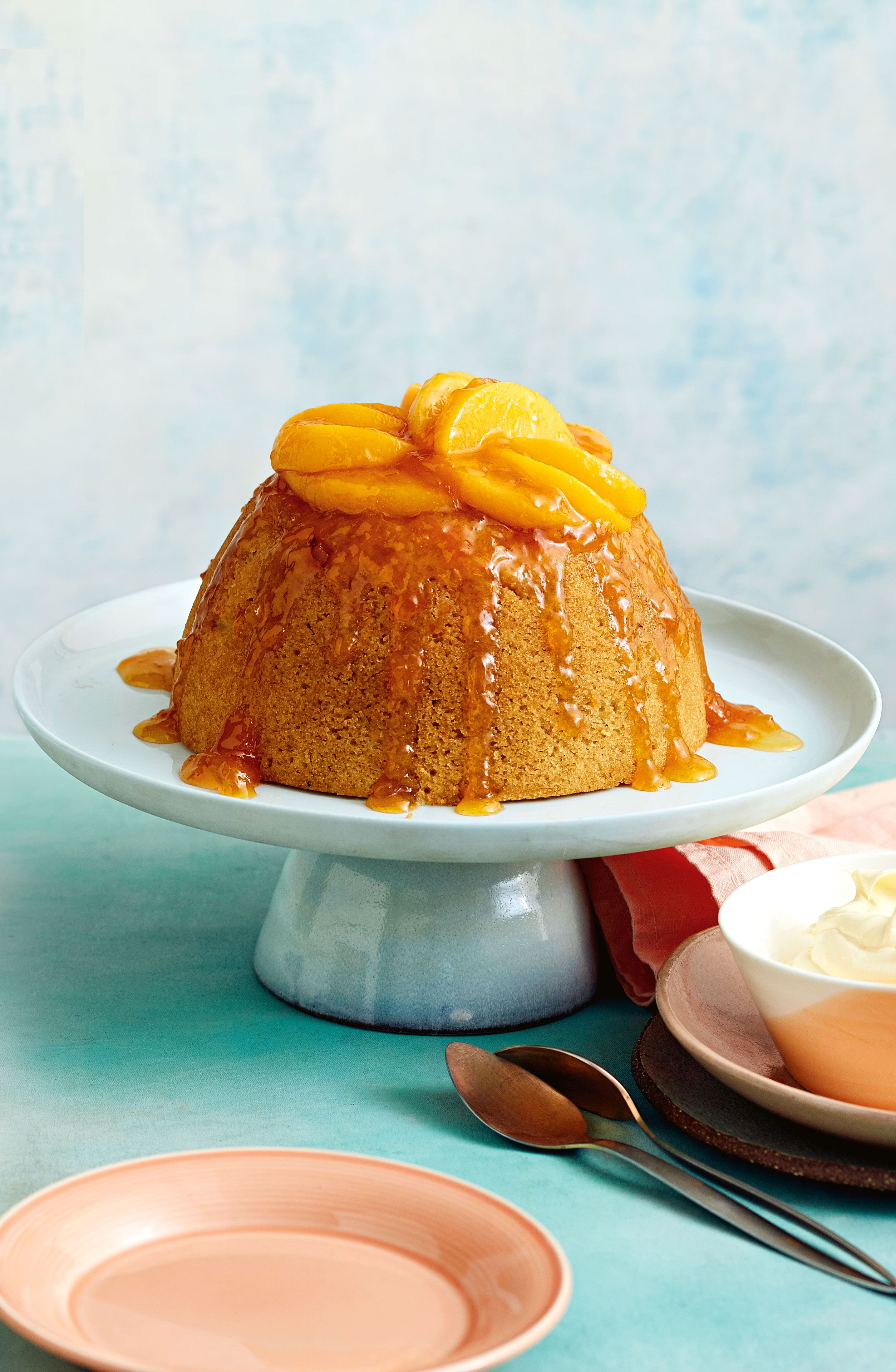 Glutenfree peach and almond pudding Recipe (With images