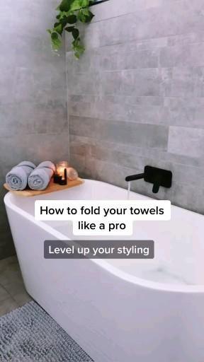 Photo of How to fold towel like a pro