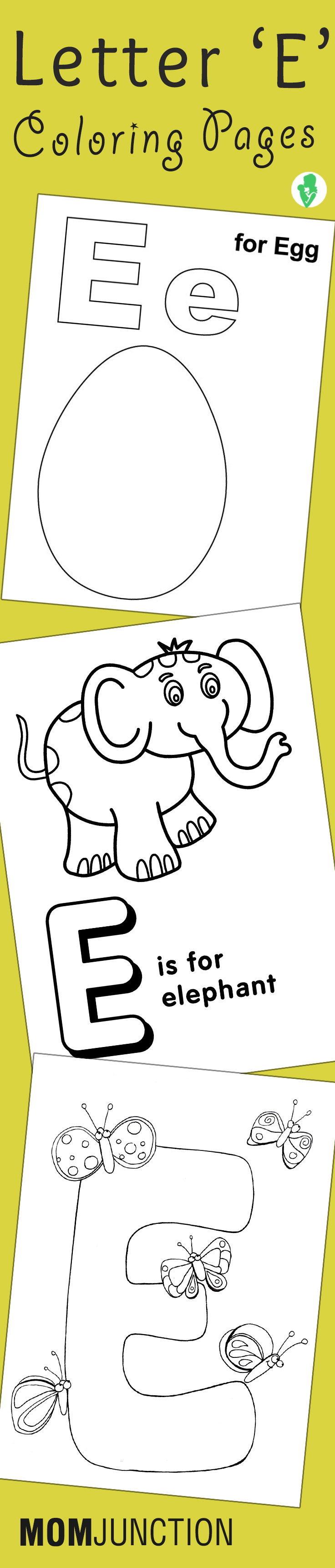 Printable letter e coloring pages - Top 10 Free Printable Letter E Coloring Pages Online