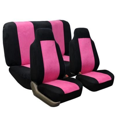 Item includes: 2 one-piece style front bucket covers, A set of mesh cloth extension,1 bag of snap. Protect your seats with our Semi-custom fit seat covers. This material with 3mm foam back support padding
