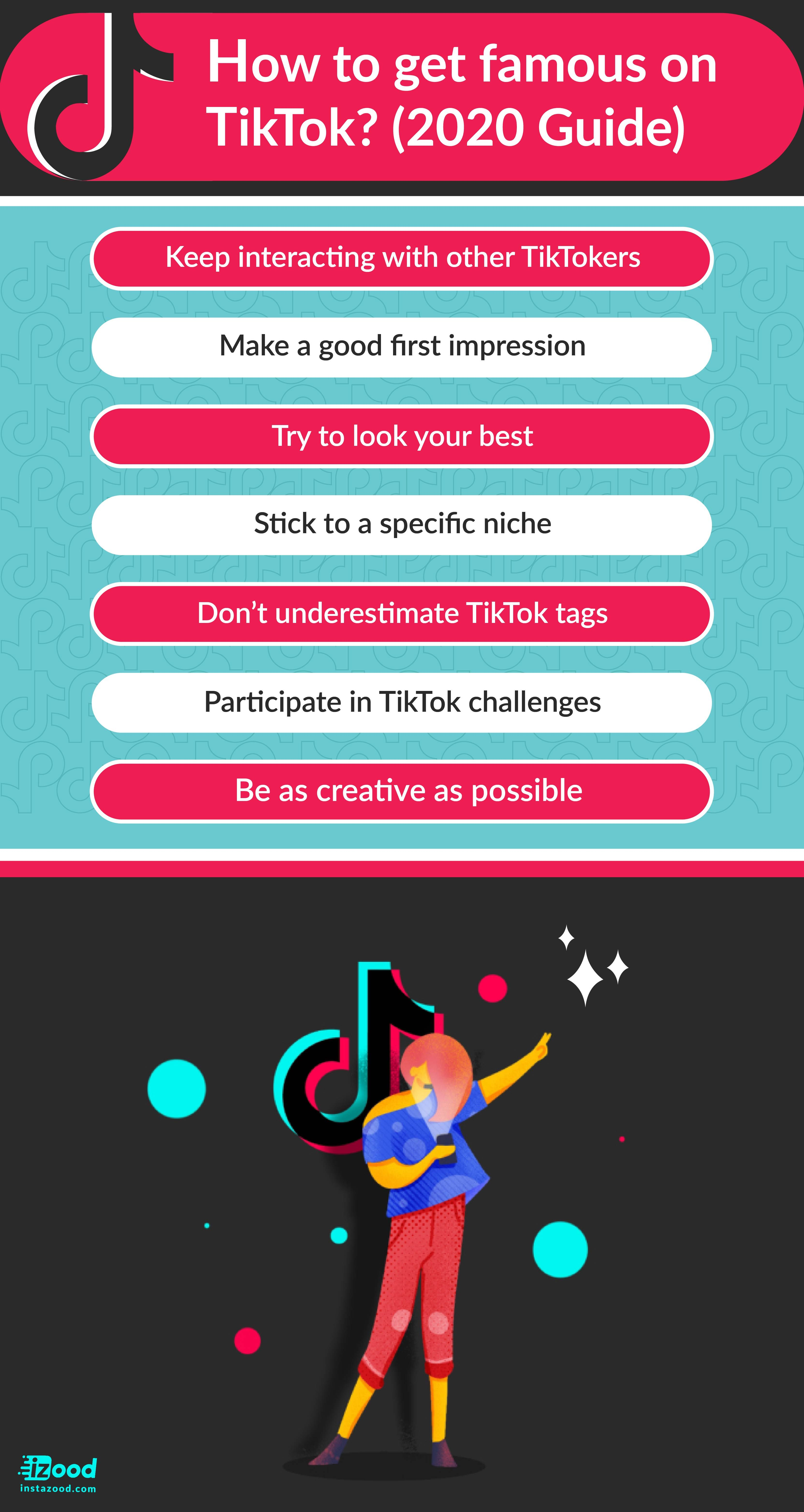 How To Get Famous On Tiktok 2020 Guide Instazood Blog How To Get Famous Snapchat Marketing Social Media Advice