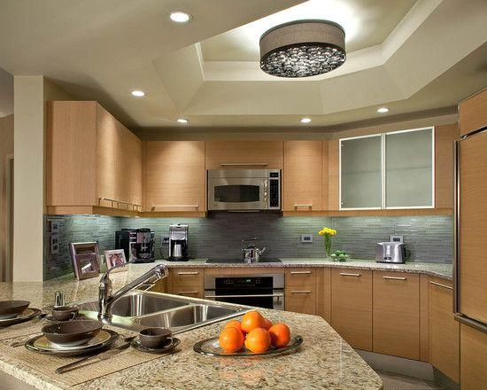 blonde kitchen cabinets portable island with seating backsplash kitchens design condo