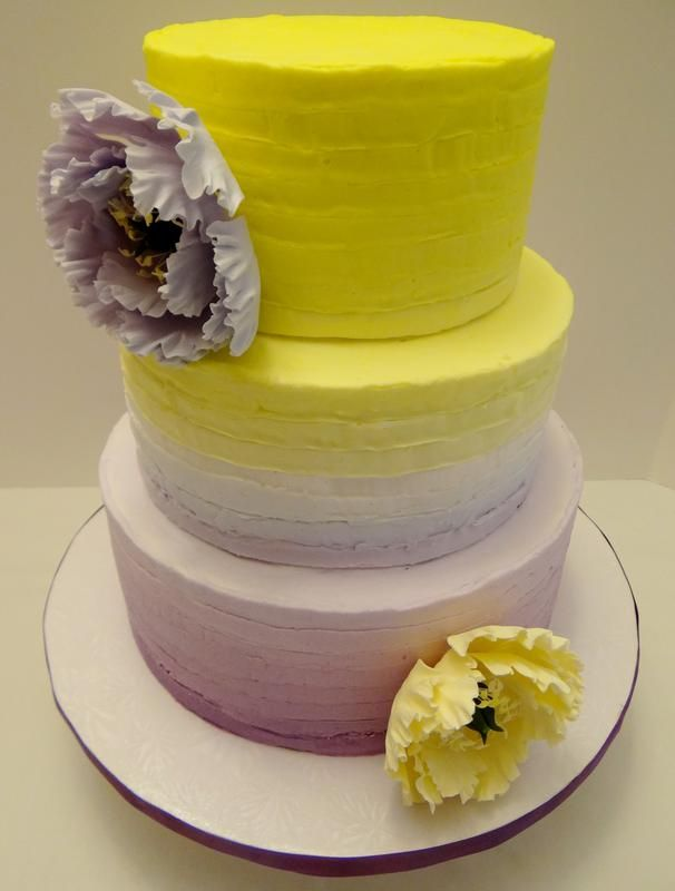Renee\'s Gourmet Floral Inspired Wedding Cakes. Serving these Floral ...