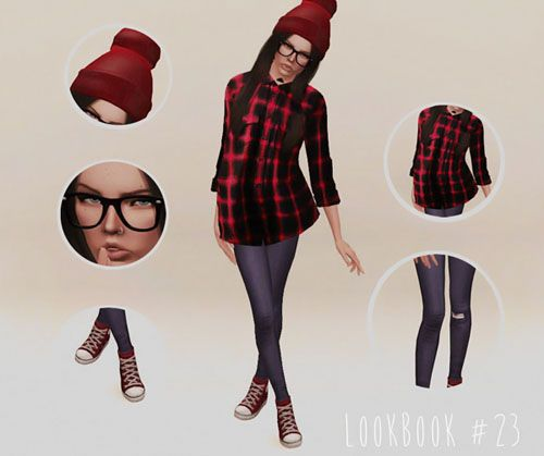 sims look book | Tumblr