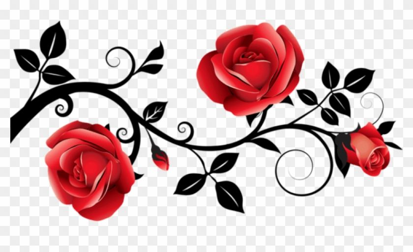 Find Hd Free Png Download Red And Black Decorative Roses Clipart Red And Black Rose Png Transparent Png To Red Rose Png Black Roses Wallpaper Rose Clipart