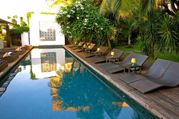 Pool at Hotel Santa Teresa, Rio de Janeiro - Photo by Andrew Harper via @harpertravel