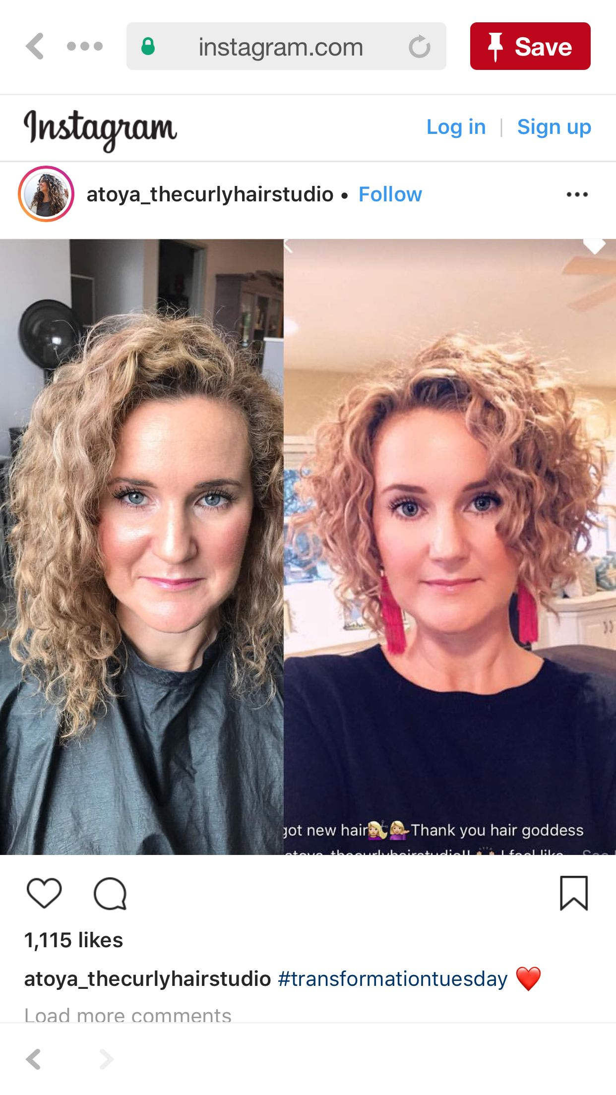Love the after cut inspirations in pinterest curly hair