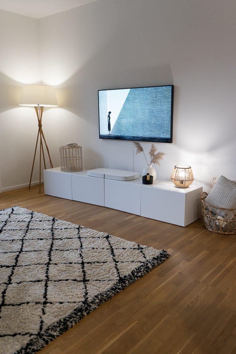 Photo of Smart Home Beleuchtung: Ein Lichtssystem für unseren Wohn-Essbereich mit DIY Tischleuchte im Boho Stil